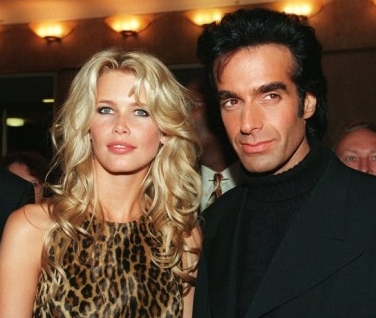 Claudia Schiffer i David Copperfield