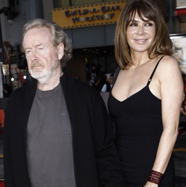 Ridley Scott i Giannina Facio