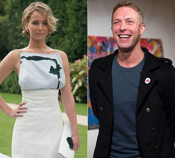 Jennifer Lawrence i Chris Martin wrócili do siebie